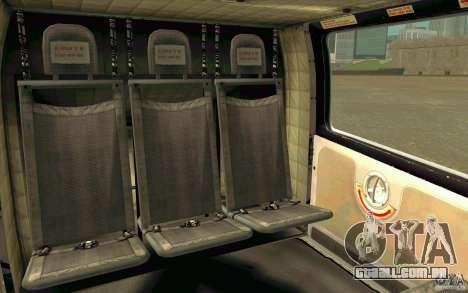 MD 902 Explorer para GTA San Andreas vista traseira