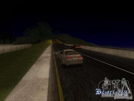 0,075 ENBSeries para PC fraco para GTA San Andreas segunda tela