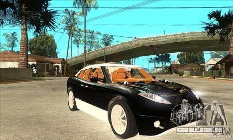 Spyker D8 Peking-to-Paris para GTA San Andreas vista traseira