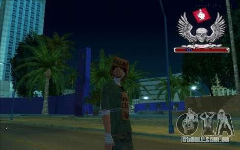 HD caixa-Bum para GTA San Andreas segunda tela
