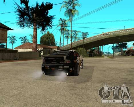 Vauxhall Monaro Rogue Speed para GTA San Andreas traseira esquerda vista