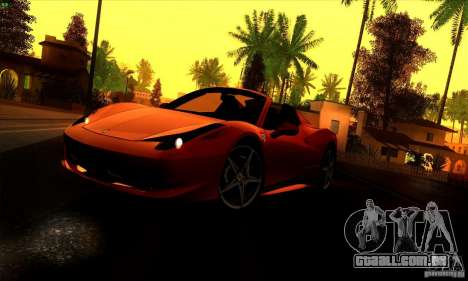 SA_gline 4.0 para GTA San Andreas segunda tela