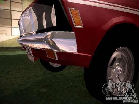 Mitsubishi Galant GTO-MR para GTA San Andreas vista interior