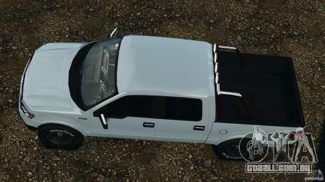 Ford F-150 v1.0 para GTA 4 vista direita
