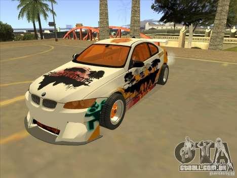 BMW M3 E92 DriftRoots para GTA San Andreas
