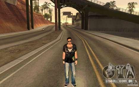 Biker para GTA San Andreas quinto tela