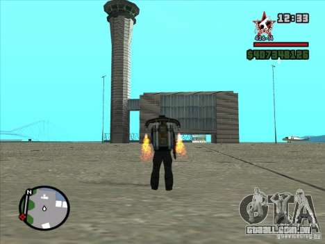 Um novo aeroporto em San Fierro para GTA San Andreas oitavo tela