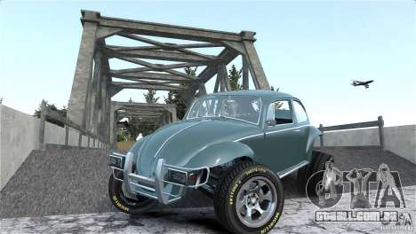 Baja Volkswagen Beetle V8 para GTA 4 vista superior