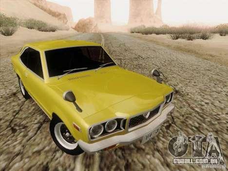 Mazda Savanna RX3 para GTA San Andreas vista interior