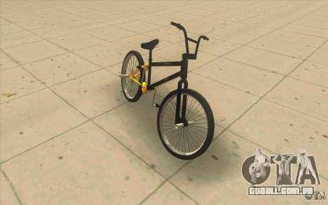 17.5 BMX para GTA San Andreas esquerda vista
