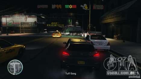 Coloured Radio HUD para GTA 4 terceira tela