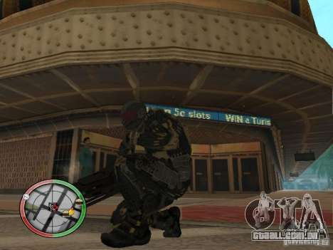Armas alienígenas de Crysis 2 para GTA San Andreas terceira tela