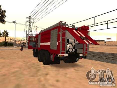 KAMAZ 53229 bombeiro para GTA San Andreas vista direita