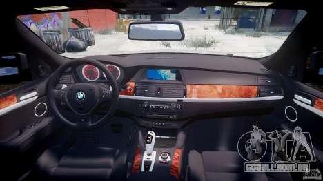 BMW X6M v1.0 para GTA 4 vista inferior
