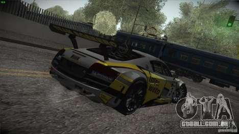 Audi R8 LMS para o motor de GTA San Andreas