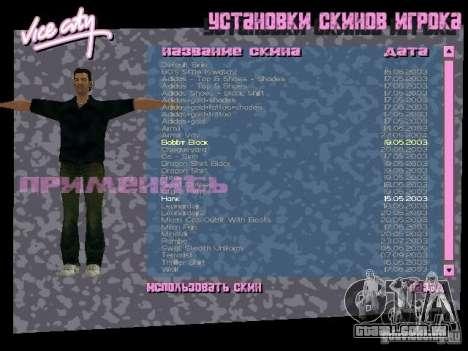Pack de skins para o Tommy para GTA Vice City quinto tela