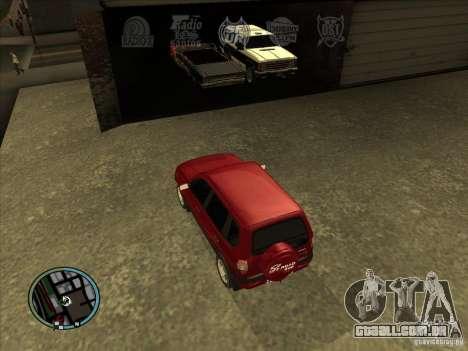 RADIO HUD IV 3.0 para GTA San Andreas
