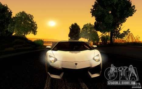 ENB Series - BM Edition v3.0 para GTA San Andreas por diante tela