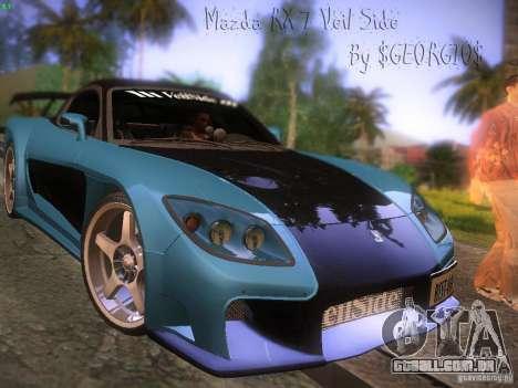 Mazda RX 7 Veil Side para GTA San Andreas