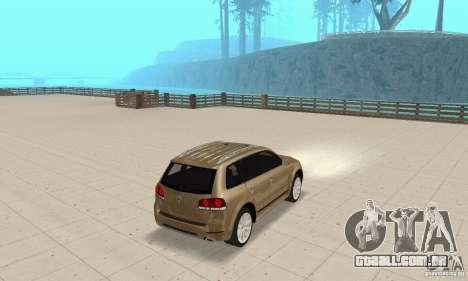 Volkswagen Touareg 2008 para GTA San Andreas esquerda vista