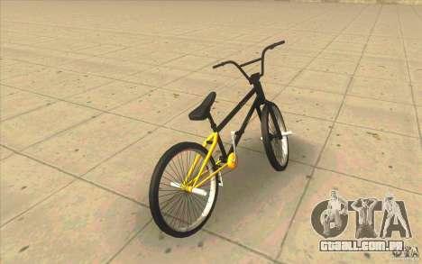 17.5 BMX para GTA San Andreas traseira esquerda vista