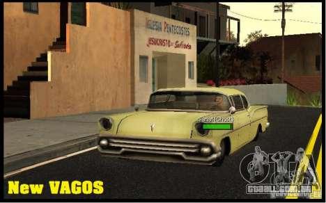 New Vagos [lsv2] para GTA San Andreas terceira tela