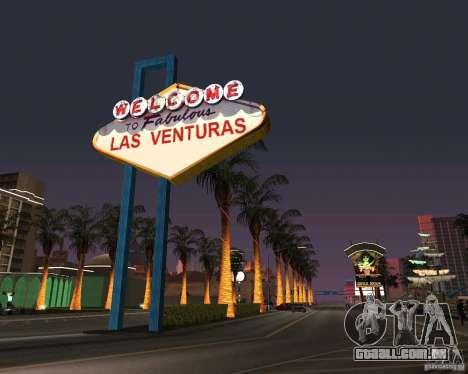 Real New Vegas v1 para GTA San Andreas segunda tela