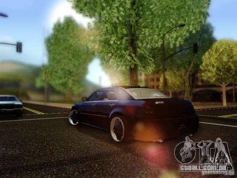 Chrysler 300C VIP para GTA San Andreas traseira esquerda vista