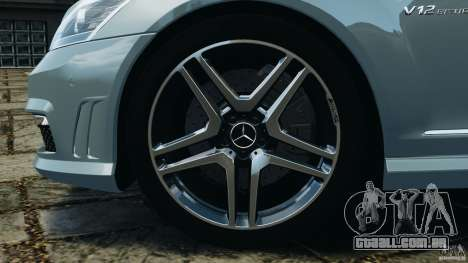 Mercedes-Benz S65 AMG 2012 v1.0 para GTA 4 interior