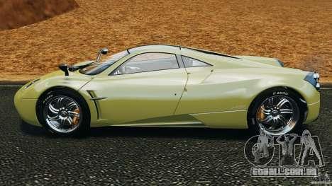 Pagani Huayra 2011 v1.0 [EPM] para GTA 4 esquerda vista