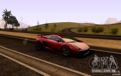 ENB Series - BM Edition v3.0 para GTA San Andreas segunda tela