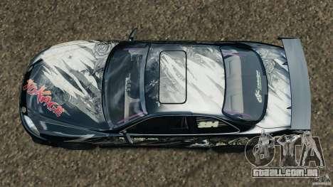 Toyota Soarer Drift para GTA 4 vista direita