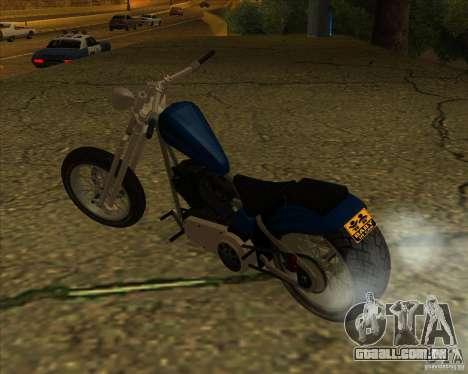 Hexer bike para GTA San Andreas vista direita