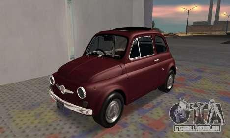 Fiat Abarth 595 SS 1968 para GTA San Andreas