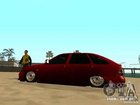 Suspensão a ar para GTA San Andreas quinto tela