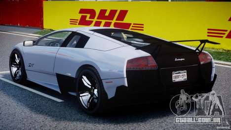 Lamborghini Murcielago LP670-4 SuperVeloce para GTA 4 vista direita