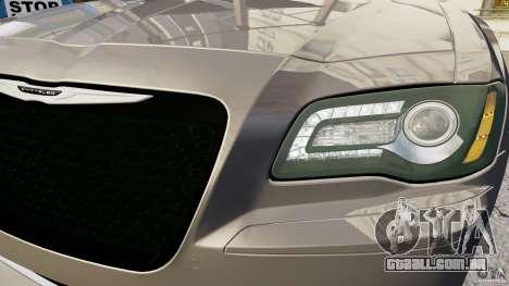 Chrysler 300 SRT8 2012 para GTA 4 vista de volta