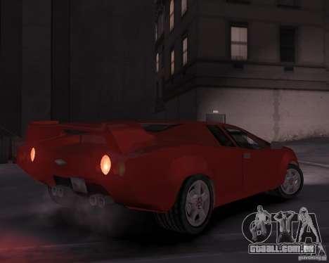 Infernus - Vice City para GTA 4 vista direita