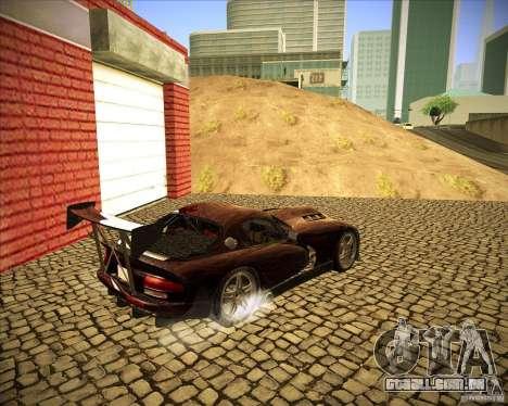 Dodge Viper TT para GTA San Andreas vista direita