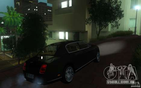 Bentley Continental Flying Spur para GTA San Andreas vista direita