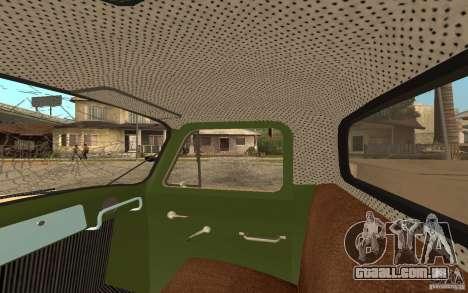 Gaz-52 para as rodas de GTA San Andreas