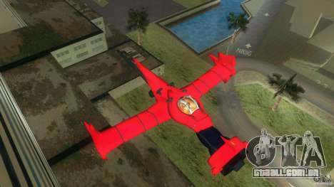 Swordfish Mono Racer para GTA Vice City deixou vista