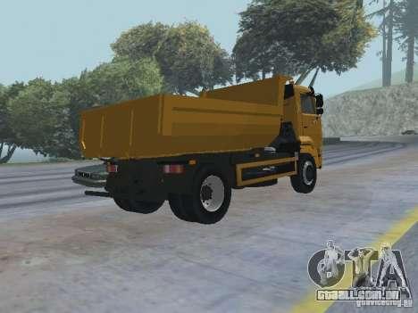 KAMAZ 53605 TAI versão 1.1 para GTA San Andreas vista direita