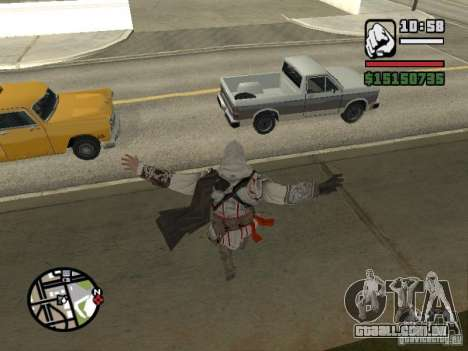 A capacidade do Assassins Creed para GTA San Andreas