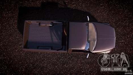 Dodge Ram 2500 1994 para GTA 4 vista de volta