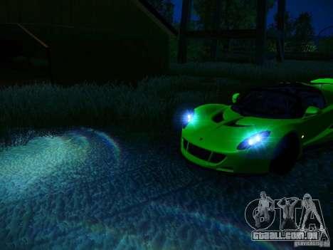 Hennessey Venom GT Spyder para as rodas de GTA San Andreas