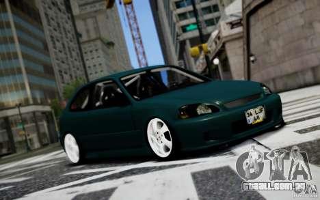 Honda Civic 1.4iES HB 1999 para GTA 4
