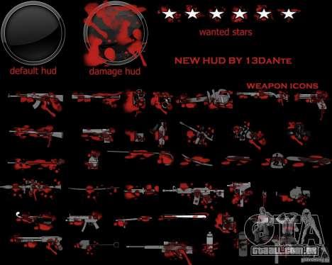 New Hud v.2.0 para GTA San Andreas