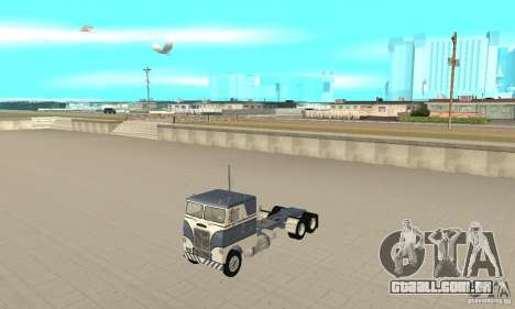 White Freightliner Extended Wheel Base para GTA San Andreas