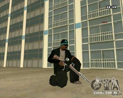 Chrome Weapon Pack para GTA San Andreas oitavo tela